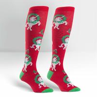 Womens - Horn for the Holidays Knee High Socks