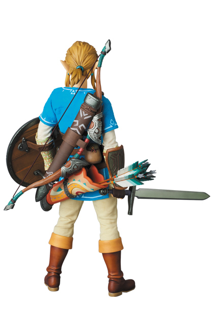 The Legend of Zelda RAH: Link (Breath of the Wild ver.) - Articulated Figure image