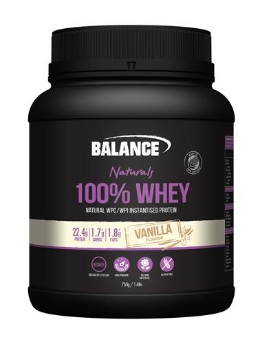 Balance 100% Whey Natural - Vanilla (750g)