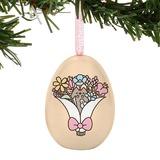 Pusheen: Tin Egg Ornament - Bouquet
