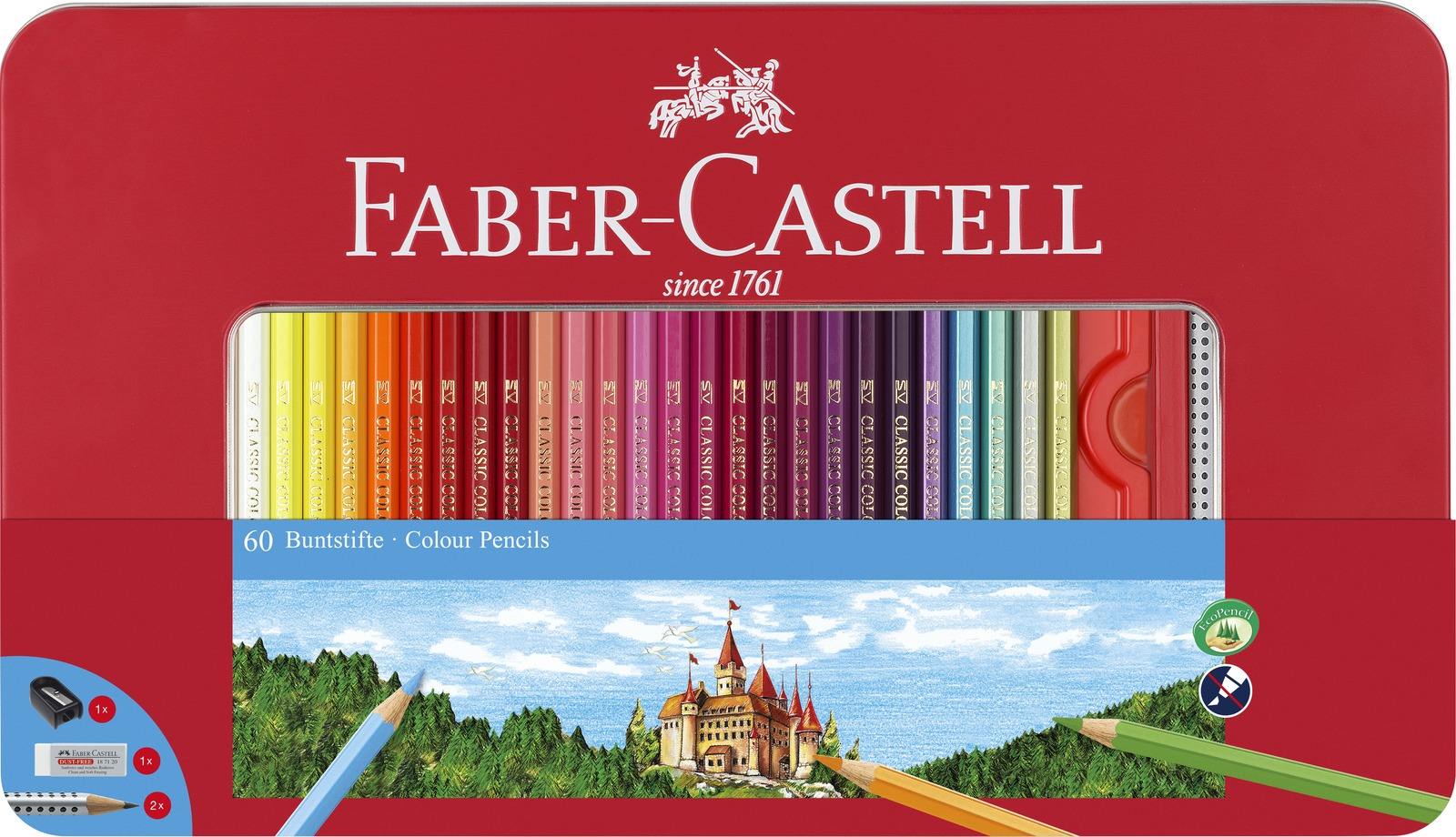 Faber-Castell: Classic Sketch (Set of 60) image