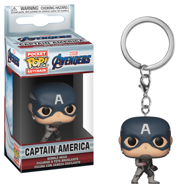 Avengers: Endgame - Captain America Pocket Pop! Keychain