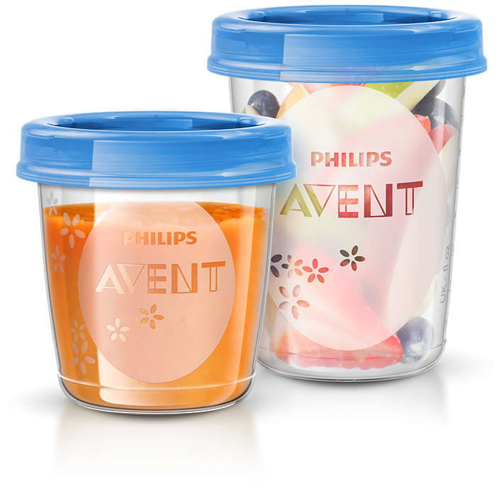 Philips Avent Food Storage Set (20 Pack) image