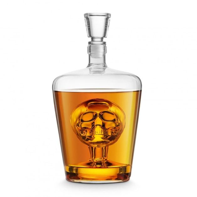 Final Touch Skull Decanter (1L)