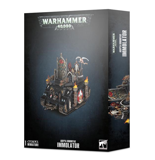 Warhammer 40,000: Adepta Sororitas Immolator