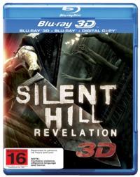 Silent Hill: Revelation on Blu-ray, 3D Blu-ray