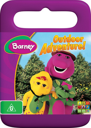 Barney - Outdoor Adventure! on DVD