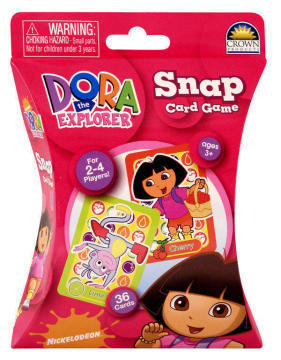 Dora the Explorer Snap Card Game