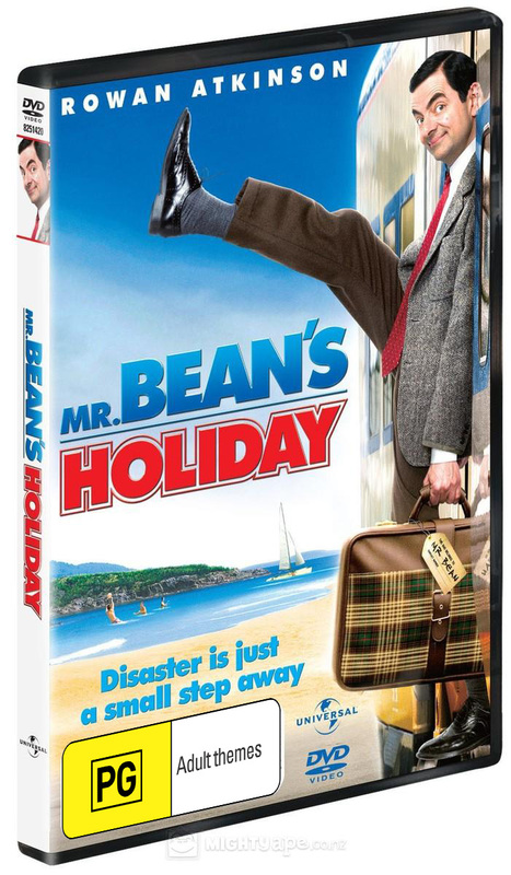 Mr Bean's Holiday on DVD