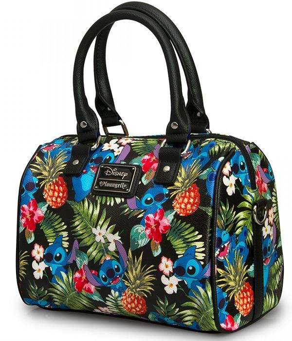 06c4a48982d Loungefly Disney Stitch Hawaiian Print Hand Bag image ...