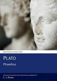 Plato: Phaedrus by Christopher Rowe image