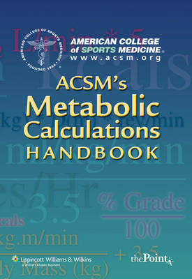 ACSM's Metabolic Calculations Handbook image