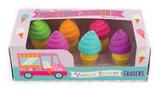 Ooly: Ice Cream - Erasers Set