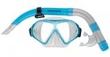 Mirage: S19 Freedom - Adult Mask & Snorkel Set (Sky Blue)