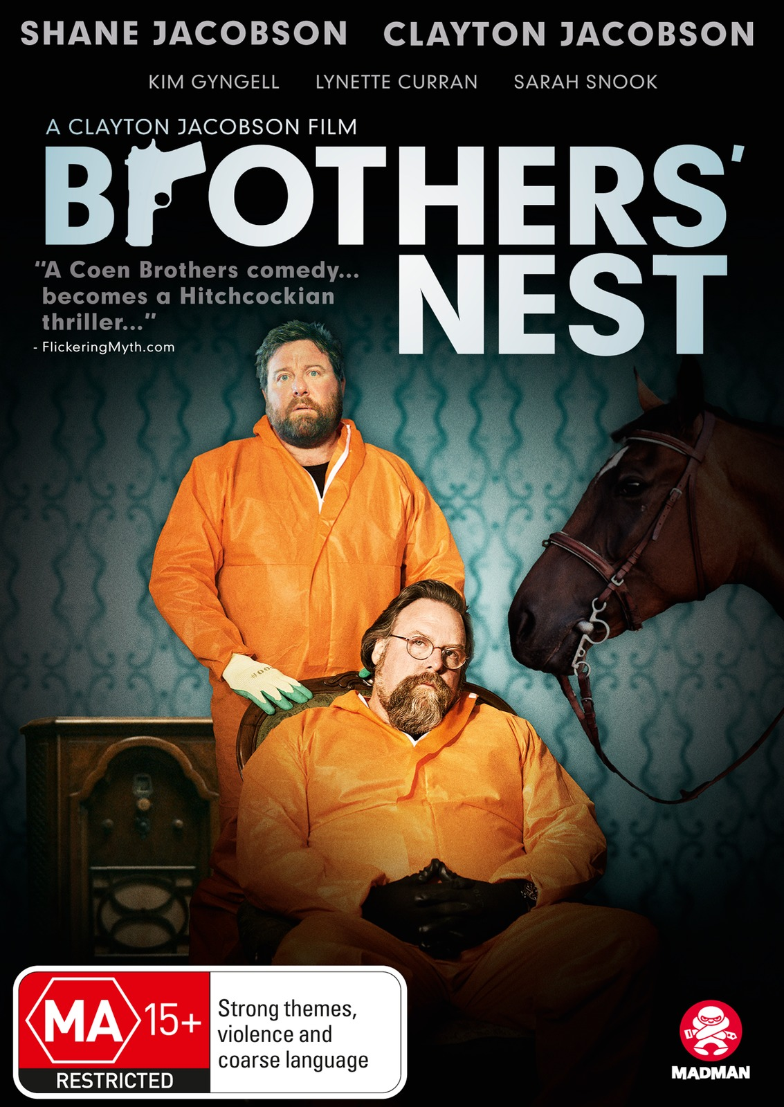 Brothers' Nest on DVD image