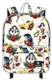 Loungefly: Wonder Woman - Tattoo Print Backpack