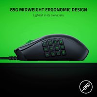 Razer Naga X Wired MMO Gaming Mouse for PC