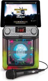 Singing Machine Groove Mini Karaoke System - Black