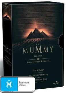 The Mummy - Legends Box Set on DVD