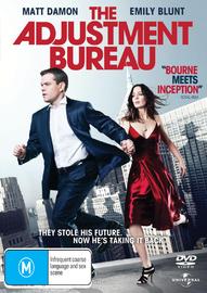 The Adjustment Bureau DVD image