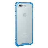NVS Clear Shield Case (drop tested) for iPhone 7 Plus (Blue)