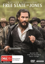 Free State of Jones on DVD