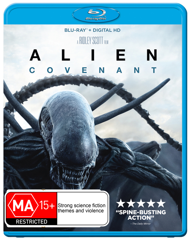 Alien: Covenant on Blu-ray