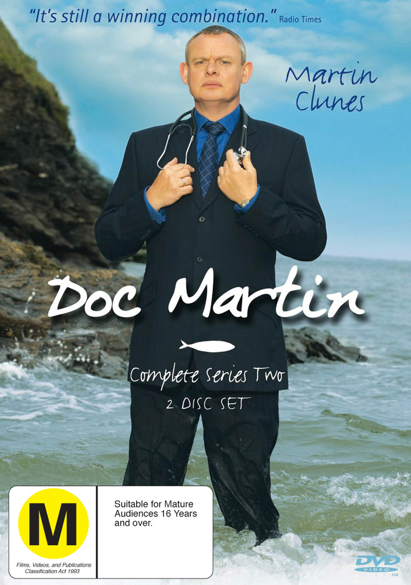 Doc Martin - Complete Series 2 (2 Disc Set) on DVD image