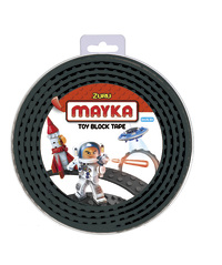 Mayka: Medium Construction Tape - Black (2M)
