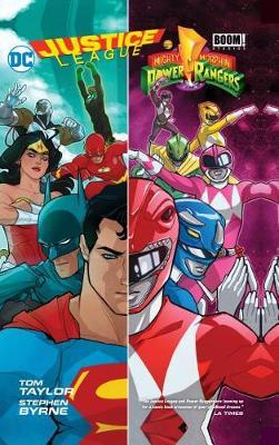 Justice League/Power Rangers by T Taylor image