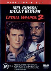 Lethal Weapon 2:  Director's Cut on DVD