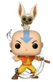 Avatar - Aang (with Momo) Pop! Vinyl Figure image