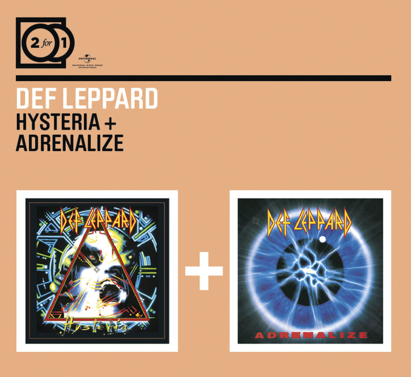 2FOR1: Hysteria / Adrenalize by Def Leppard image