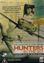 Hunters In The Sky: Fighter Aces of World War 2 (3 Disc Set) on DVD