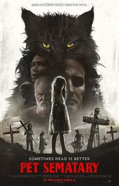 Pet Semetary (2019) on DVD