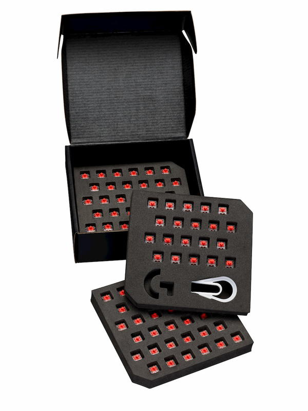 Logitech G PRO X Mechanical Switch (92 switches) - Linear for PC