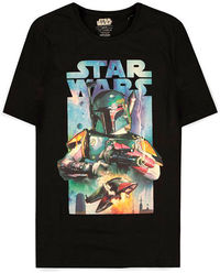 Star Wars: Boba Fett Poster T-Shirt (Size - L)