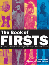 The Book of Firsts by Ian Harrison image