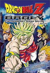 Dragon Ball Z - Movie 08 - Broly : The Legendary Super Saiyan on DVD