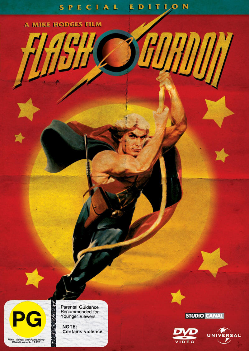 Flash Gordon (1980) - Special Edition on DVD image