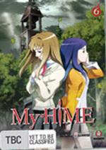 My-HiME - Vol. 6 on DVD