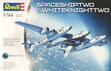 Revell: 1/144 SpaceShipTwo & WhiteKnightTwo - Model Kit