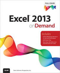 Excel 2013 On Demand by Steve Johnson