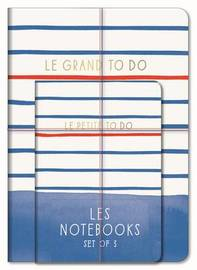 Paris Street Style: Les Notebooks (Set of 3) by Abrams Noterie
