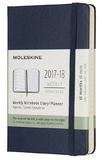 Moleskine Pocket Hard Cover 18 Month Weekly Planner - Sapphire Blue