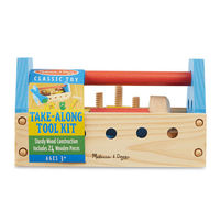 Melissa & Doug: Wooden Take-Along Tool Kit