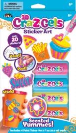 Cra-Z-Gel: Sticker Art Set - Scented Yummies