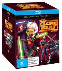 Star Wars: The Clone Wars - The Complete Seasons 1-5 on Blu-ray