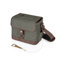 Beer Caddy Cooler w/Opener- Khaki