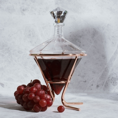 Thumbs Up!: Diamond Decanter and Holder